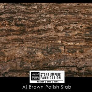 Aj Brown Polished Slab