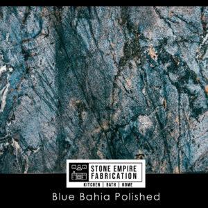Blue Bahia pOLISHED