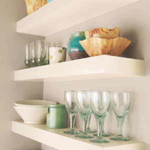Merillat Classic® Floating Shelves - Cotton Finish