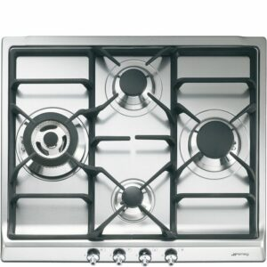 """SMEG Classic 24"""" Gas Cooktop with 4 Burners"""