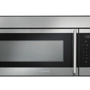 SMEG Classic 29.875'' 1.6 Cubic Feet cu ft. 1550 Watt - Watt Recirculating Over-The-Range Microwave with Sensor Cooking