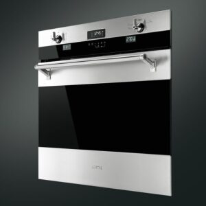 """SMEG Classic 30"""" Self Cleaning Electric Single Wall Oven"""