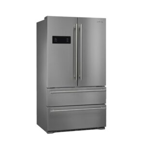 """SMEG Classic 36"""" French Door 22 cu. ft. Refrigerator with Ice Maker"""